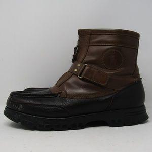 Polo Ralph Lauren Rustler II Brown Leather Sz 10.5